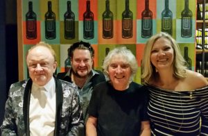 Brain Fuzz host Matthew with Peter Asher and Albert Lee in Nashville