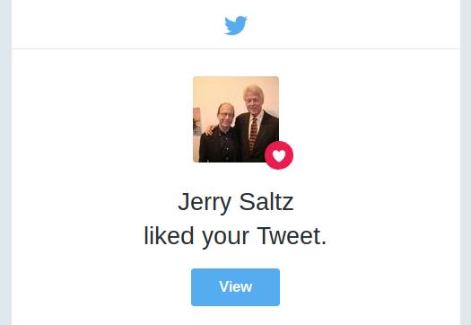 Jerry Saltz on Twitter likes your tweet - Brain Fuzz Arts Podcast