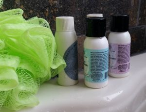 Travel toiletries - the sharing economy discussed in Brain Fuzz podcast episode 7.