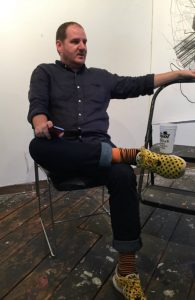 Daniel Fuller contemporary art curation discussion on the Brain Fuzz podcast