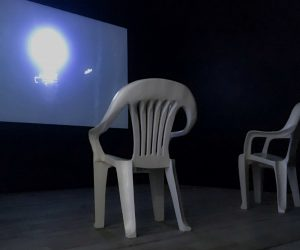 Dana Haugaard's installation All Time is Past Time